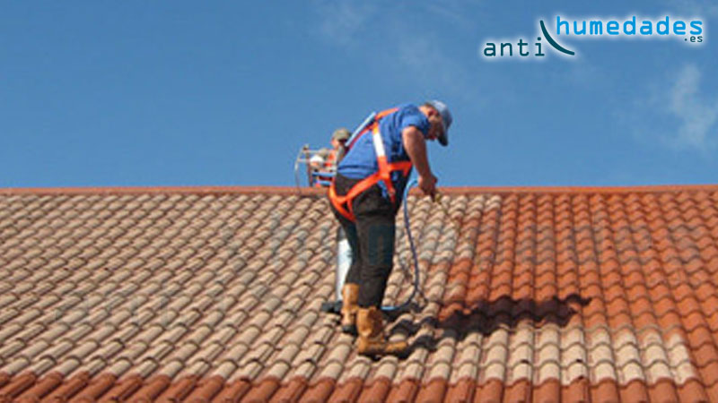 Consigue un tejado como nuevo limpio e impermeable en 3 pasos - Impermeabilizacion de tejados ...