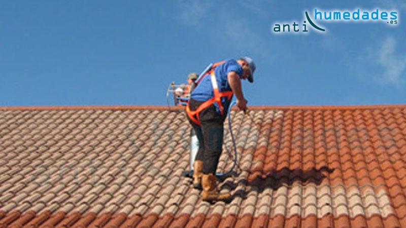 Paint New Roof se aplica fácilmente con Pistola Airless, Brocha o Rodillo