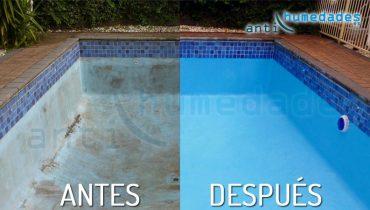 Reparación y eliminación de grietas en piscinas