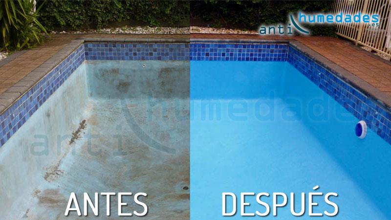 Como reparar las grietas y proteger tu piscina del paso for Cuanto cuesta una piscina de cemento