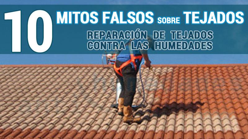Tejados 10 mitos y mentiras como reparar e for Tipos de tejados de casas