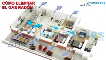 Como eliminar el gas radon de una vivienda